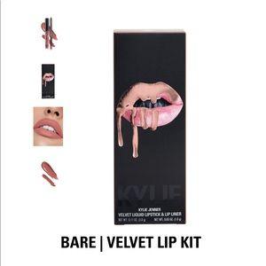 Kylie Jenner Velvet Liquid Lipstick and Lip Liner